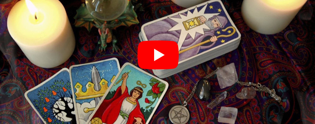 Tarot cards online video